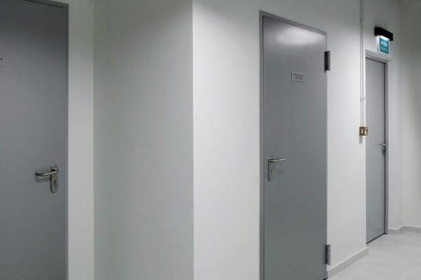 Drzwi stalowe wewnętrzne