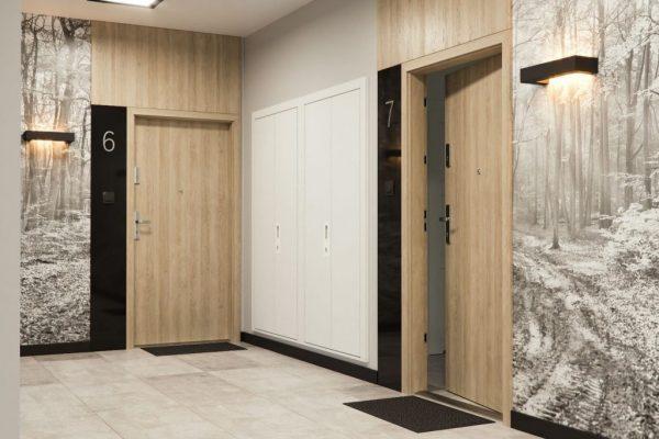 Drzwi wejściowe wewnątrzlokalowe PORTA